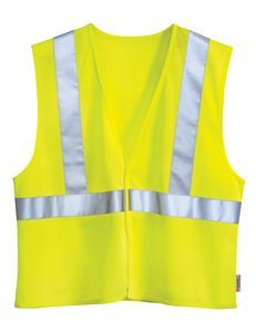 Tri-Mountain Safety Workwear Zone Mesh Safety Vest w/ 3M Reflective Tape #meshsafetyvest #3mreflectivetape #ANSIvest