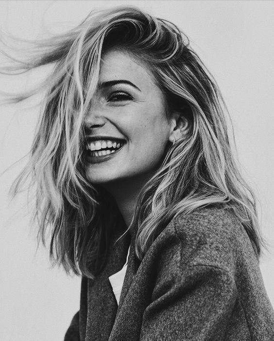 Woman Laugh Beautiful Woman Lovely Natural Smile Black And White Grayscale Monochrome Female Portrait Photography Poses Women Portrait Photography Portrait