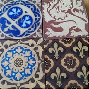 Palace of Westminster Minton tiles return to Stoke-on-Trent