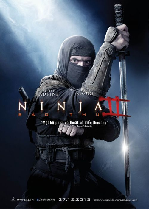 Ninja Ii Shadow Of A Tear 2013 Cartelera De Noticias Ninja 2 Ninja Film School