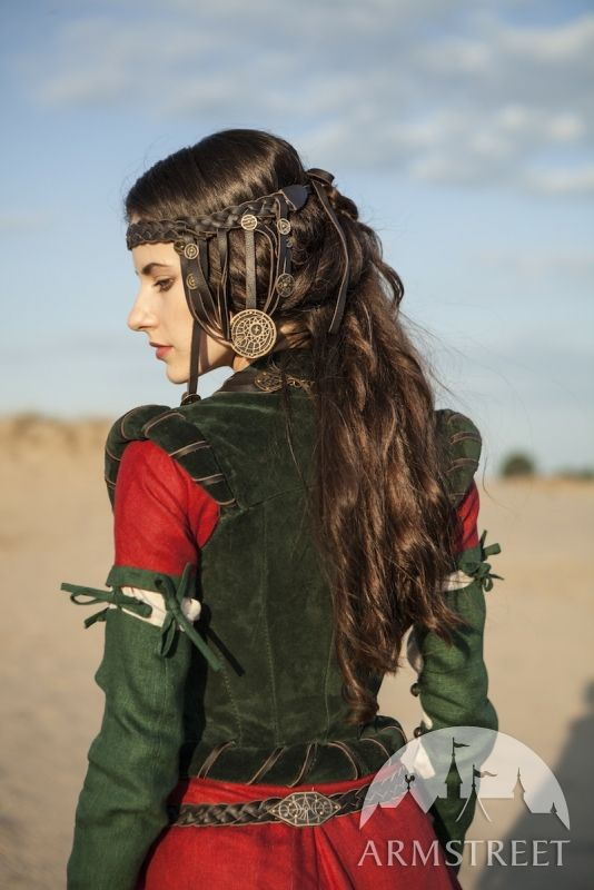 """Exclusive renaissance and fantasy medieval costume corset """"The Alchemist's daughter"""" for sale"""