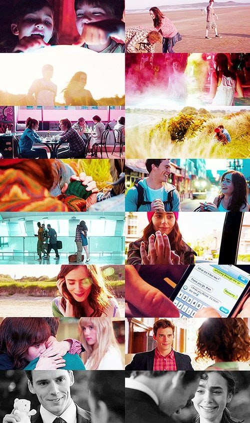 Lily Collins and Sam Claflin in Love Rosie ❤❤❤❤ I cannot wait for this movie!!