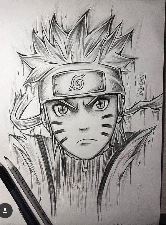 Clique No Pin Como Desenhar Anime Passo A Passo Naruto Uzumaki Naruto Desenho Naruto E Sasuke Desenho