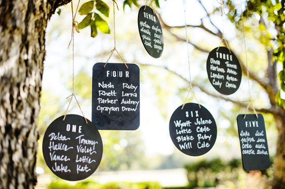 #Nostalgia #Trend #Chalkboard Plaques