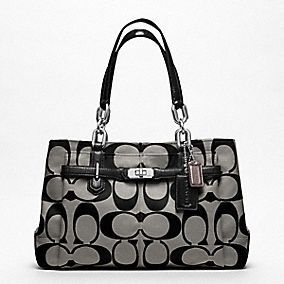 COACH Chelsea Signature Jayden Carryall - My latest purchase. $298.00