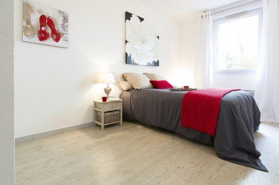 Home staging dans un bien vide qui était en vente depuis 14 mois, le bien s'est vendu en 13 jours après home staging par Katia Janowski Home Staging Experts