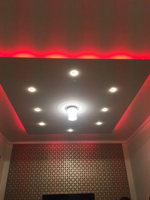 Indirekte Beleuchtung - Deckensegel Lisego Quadro - wohnzimmer deckenlampe led