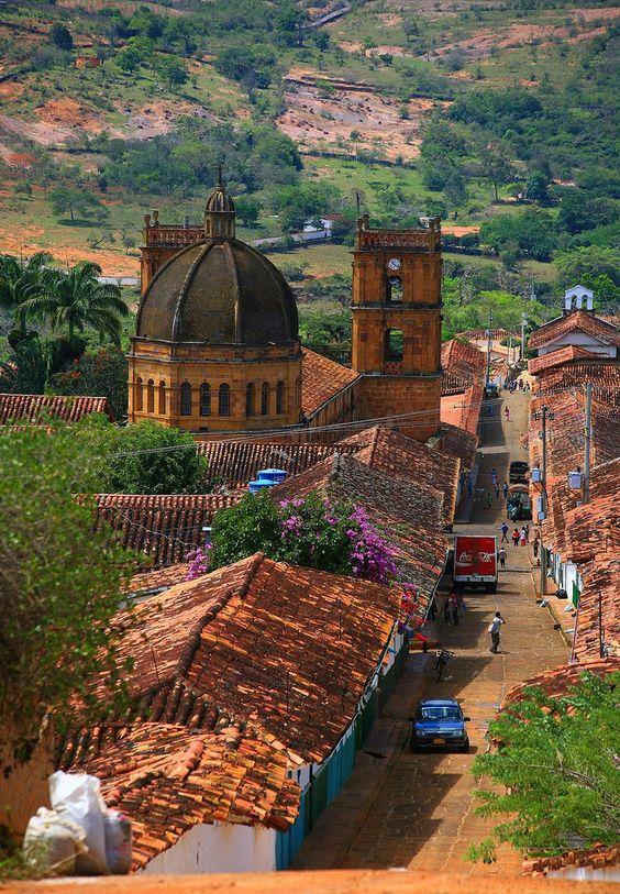 Barichara, Colombia, (Kolumbien in Südamerika).  repined vom Reiseveranstalter Chirimoya Tours.