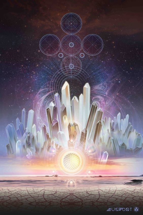 """Crystals are alive with a unified field of consciousness that connects them wherever they are. The awareness of this, and of the healing properties of crystals, was incorporated into esoteric..."