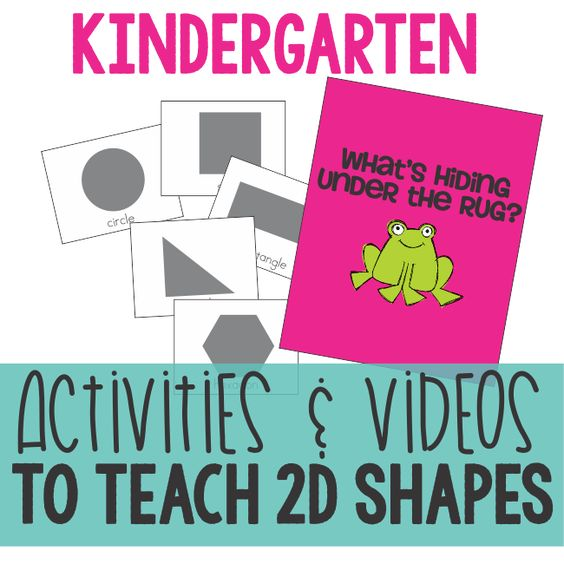 Working on 2D shapes? Last quarter I really focused with my kinders on identifying 2D shapes. In addition to really working on the teen numbers and composing/decomposing 11-19, this quarter we are really hitting the idea of describing shapes.