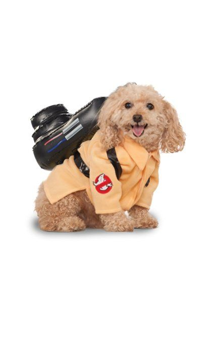 Ghostbusters Movie Pet Costume, Large, Ghostbuster Jumpsuit