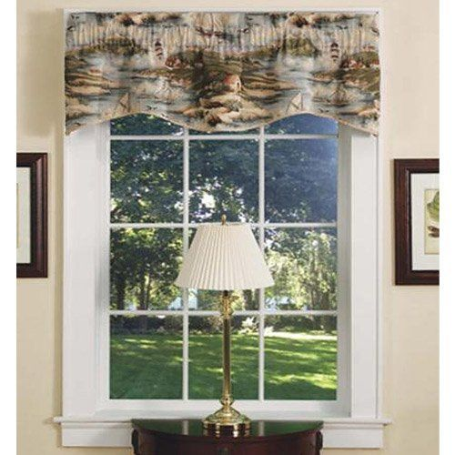 Achim Home Furnishings Bar Harbor Tapestry Valance, 54-inch by 16-inch by Achim Home Furnishings. $8.99. 100-percent polyester. Includes one tapestry designed valance. Bar harbor design. Tapestry Valances are the perfect finishing decor for you kitchen.  Includes one Tapestry Valance with Bar Harbor Design.. Save 57%!