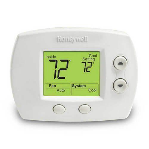 Th5320c1002 Termostato De Calefaccion Y Refrigeracion Premier White No Programable Focuspro 5000 Digital Termostato Digitales Carros De Compras
