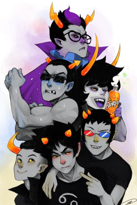 gamzee and eridan love - photo #37
