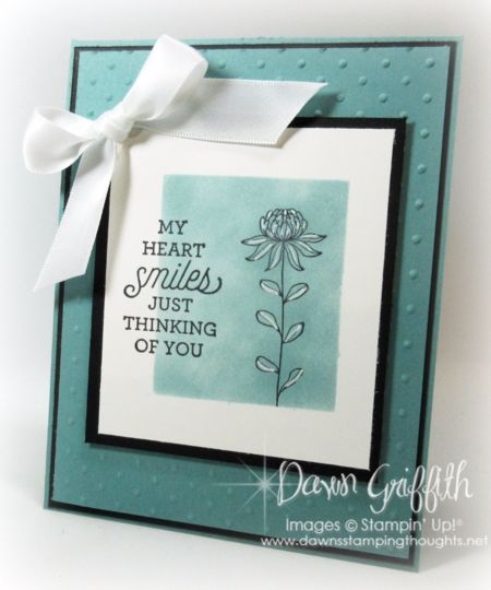 My Heart Smiles .... | Stampin'Up!  | Bloglovin'