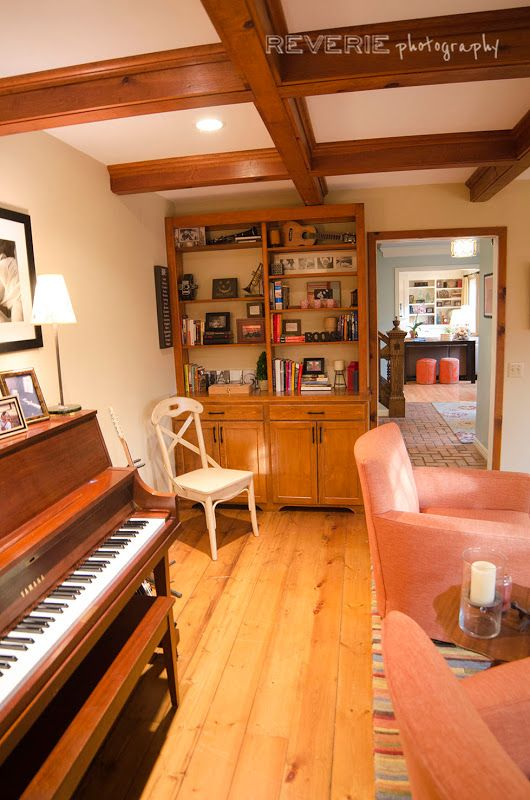 Music Room: Acadia Project | Cathy Wall Designs | Pinterest | Room, Guitar  Storage And Piano Room