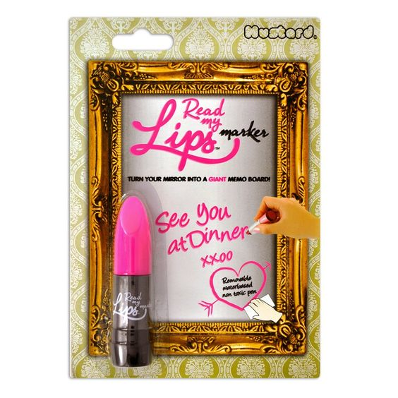 Amazon.com: Read My Lips Mirror Marker: Office Products