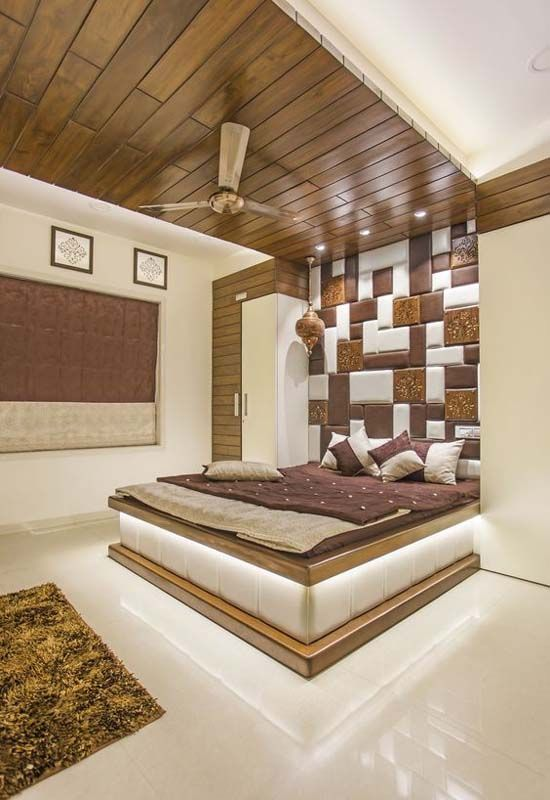 Contemporary Bedroom Idea Trend 2018 Ceiling Design Bedroom