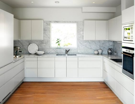 simple white kitchen cabinets simple modern white kitchen marble slab backsplash 5250