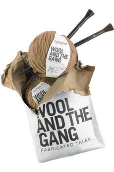 Wool and the Gang|Snood Dogg DIY wool scarf kit|NET-A-PORTER.COM - StyleSays