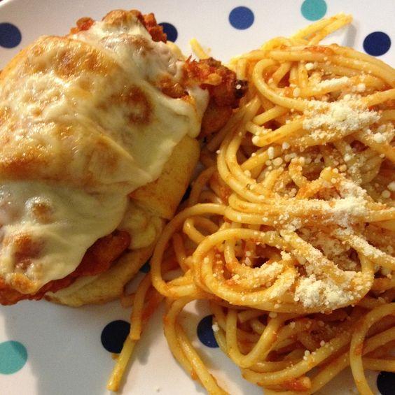 Chicken Parmesan Cresents
