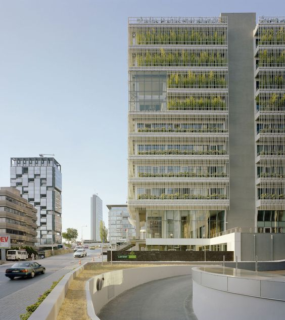 Levent Green Office Building, Istanbul, Molestina Architekten GmbH