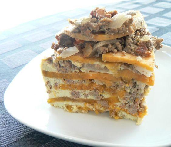 Paleo Hungry Man Sweet Potato Casserole and more of the best paleo crock pot recipes on MyNaturalFamily.com #paleo #crockpot #recipe