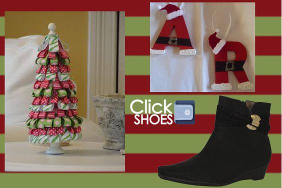 letras de santa... www.clickshoes.com.mx modelo w320101 un invierno comodo