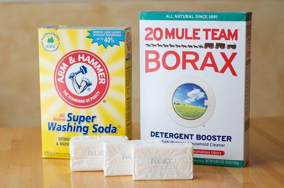 Easy Homemade Laundry Detergent - Powder
