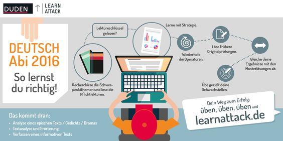 Mit der richtigen #Lernstrategie fürs #Abitur im Fach #Deutsch lernen…