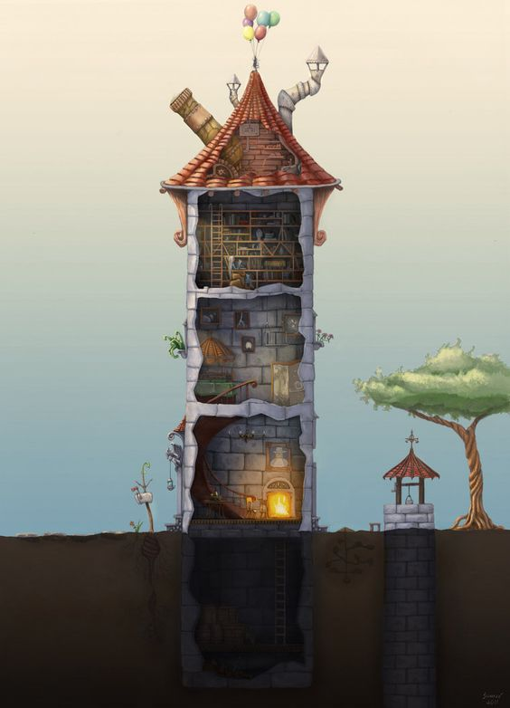 Wizards Towers And Deviantart On Pinterest