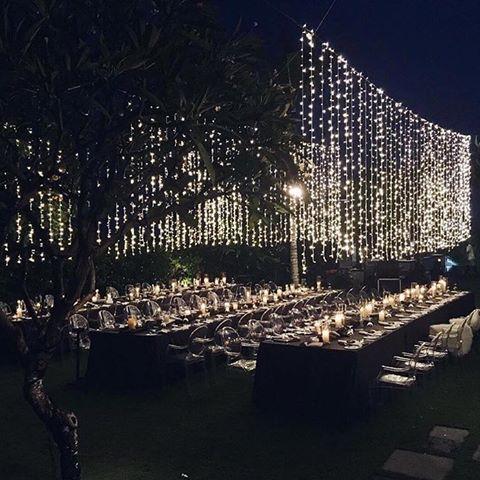 Fairytale Nighttime Wedding Fairy Lights Wedding Wedding