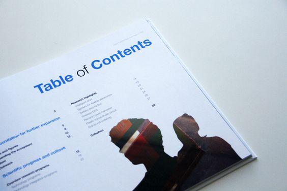 Executive Report 2009 - Holst Centre by Jorrit van Rijt, via Behance