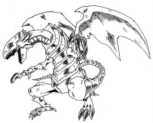 Yugioh Blue Eyes White Dragon Drawing Dragon Drawing White Dragon Dragon Sketch