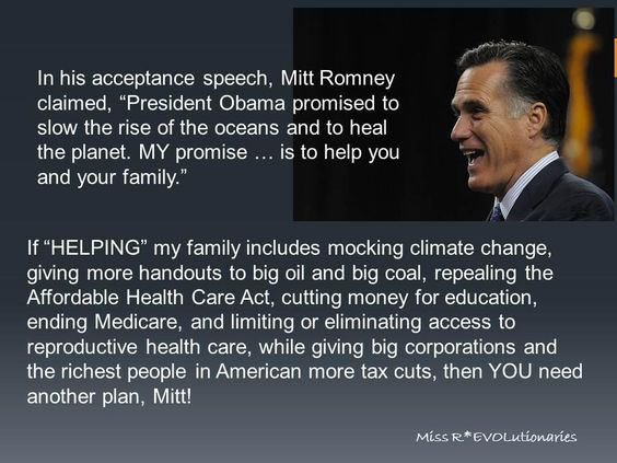 Mitt and his shit are no help to me.