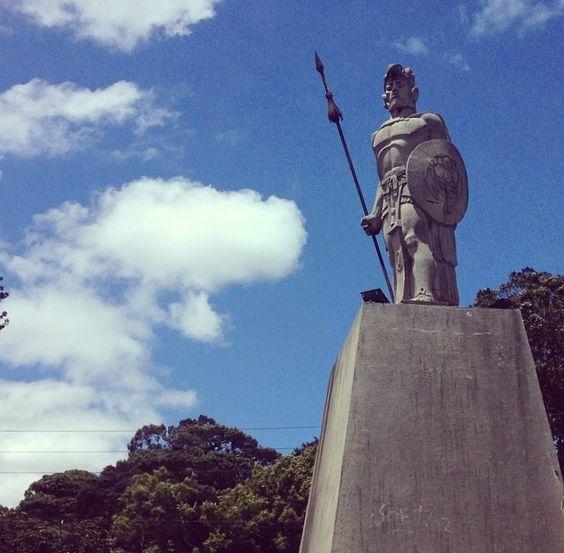 Tecún Umán Guatemala #guatemala #centroamerica #belleza #turismo #zona9 #heroesnacionales #heroes