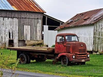 1955 International Harvester farm truck