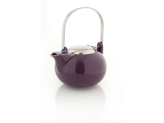 I have this purple ceramic teapot, loving it..