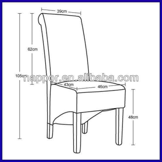 Standard Dining Chair Dimensions In Mm Dining Chairs Dining