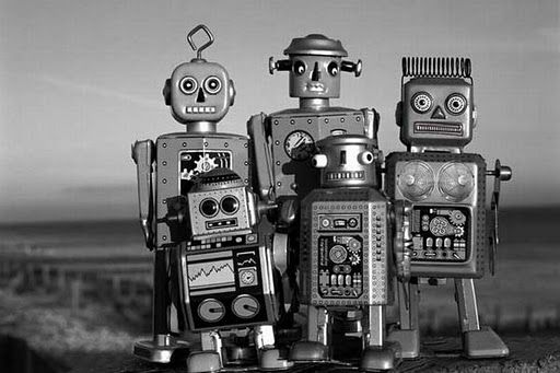Russian vintage robot toys were much cuter: