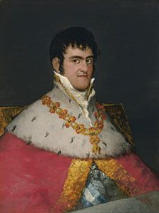Retrato de Fernando VII, Francisco de Goya