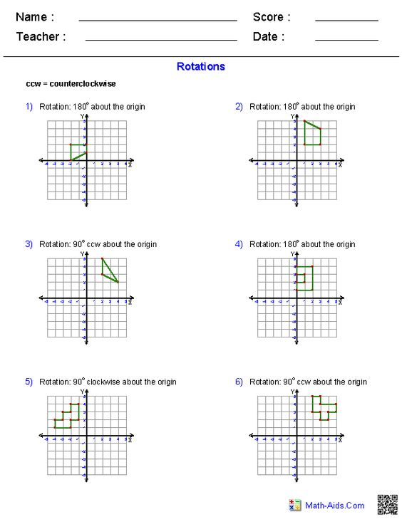 math worksheet : rotations worksheets  math aids com  pinterest  worksheets : Ks3 Maths Worksheets With Answers