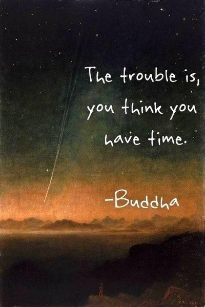 Soulmix · The trouble is, you think you have time...:
