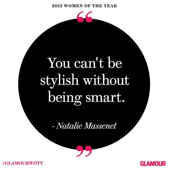 Net-a-Porter founder Natalie Massenet at #GlamourWOTY