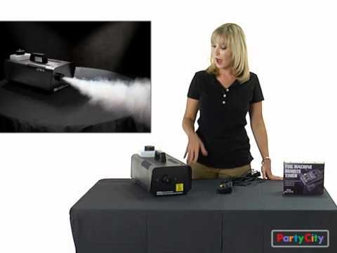 Click the video for tips and tricks to set up a fog machine this Halloween!