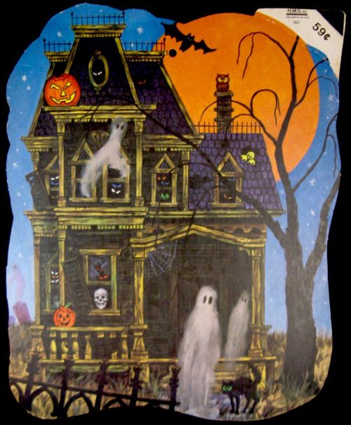 Haunted house hallowe 39 en pinterest posts haunted for Pinterest haunted house