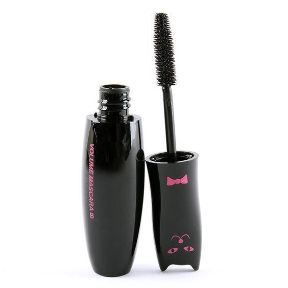 Einzelhandel Großhandel Schwarz Mascara Volume Lange Curling Wimpernverlängerung Züchter Faser Make-Up Kosmetik Mascara Flüssigkeit