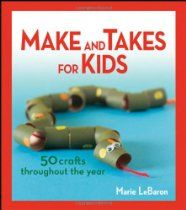 Crafts you can do without buying a ton of things. Boys all loved it.  Interviewed Marie and reviewed the book on podcast #78.