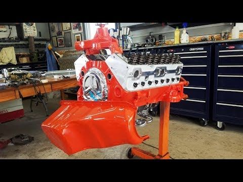 Engine Building Part 8 Fixing Rust With Metal Rescue And Painting The Engine Chevy Small Block Che Youtube Ford Big Block Ford Racing Classic Hot Rod