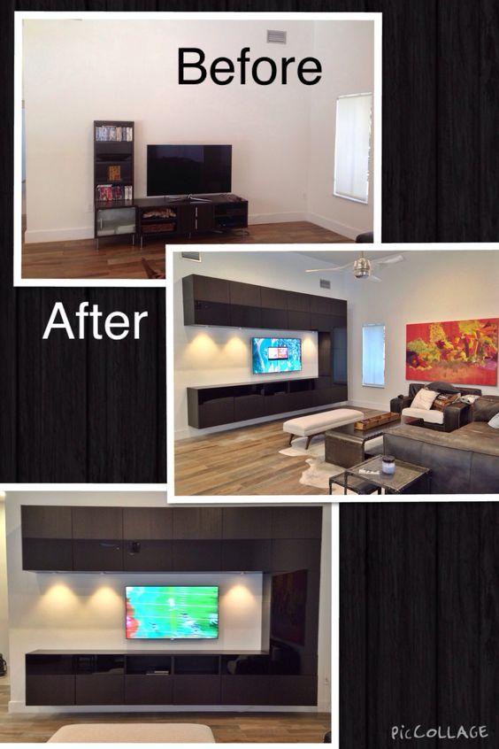 Ikea Besta Tv Entertainment Center Wall Unit Pinterest Entertainment Center Wall